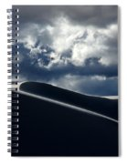 Drama Of The White Sands Spiral Notebook