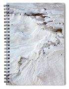 Dramatic Abstract At White Sands Spiral Notebook