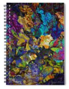 Dramatic Blooms 01 Spiral Notebook
