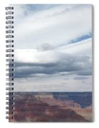 Dramatic Clouds Over The Grand Canyon Spiral Notebook