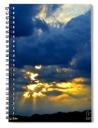 Dramatic Clouds Spiral Notebook