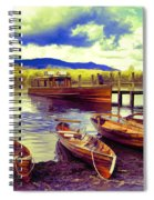 Dramatic Derwent Spiral Notebook