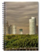 Dramatic Modern Buenos Aires Spiral Notebook