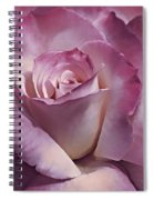 Dramatic Plum Rose Flower Spiral Notebook