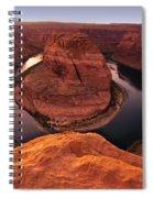Dramatic River Bend Spiral Notebook