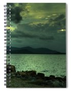 Dramatic Sky Spiral Notebook