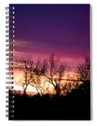 Dramatic Sunrise-l Spiral Notebook