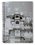Dramatic Udaipur Spiral Notebook