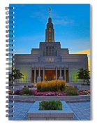 Draper Temple 1 Spiral Notebook