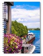 Draw Bridge Reflection Spiral Notebook