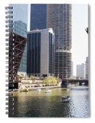 Draw Bridges Of Chicago Spiral Notebook