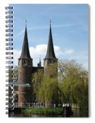 Drawbridge - Delft - Netherlands Spiral Notebook
