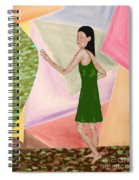 Drawing Back The Veil Spiral Notebook