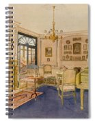 Drawing Room Adam Revival Style Spiral Notebook