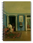 Drawing Room With Columned Entresol  Spiral Notebook