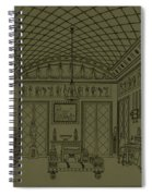 Drawing Room With Egyptian Decoration Spiral Notebook