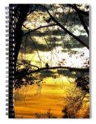 Dream At Dusk Spiral Notebook