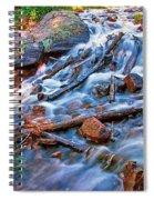 Dream Cascade Spiral Notebook