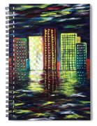 Dream City Spiral Notebook
