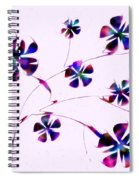 Dream Flowers Spiral Notebook