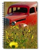 Dream Left Behind Spiral Notebook