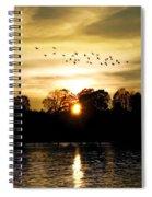 Dream Of A Sunset Spiral Notebook