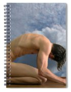 Dream Of Icarus Spiral Notebook