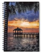 Dream Pier Spiral Notebook