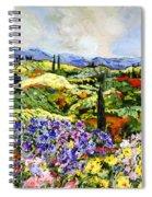 Dream Valley Spiral Notebook
