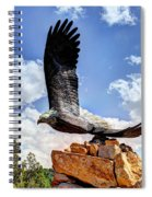 Dream Your Eagle And Fly With Him Spiral Notebook