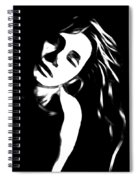 Dreaming Girl Spiral Notebook