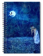 Dreaming In Blue Spiral Notebook