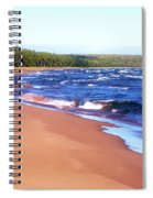 Dreaming Of Lake Superior Spiral Notebook