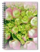 Dreaming Of Pink Hydrangeas Spiral Notebook