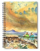 Dreaming Of Sailing In Lanzarote Spiral Notebook