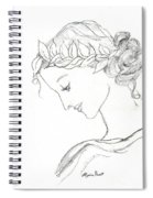 Dreaming Of The Dance Spiral Notebook