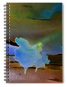 Dreams Of Blue Trees Spiral Notebook