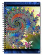 Dreams Of Childhood Spiral Notebook