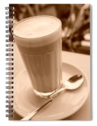 Dreams Of Coffee  Spiral Notebook