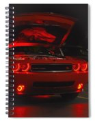 Dreams Of Red Seduction Spiral Notebook