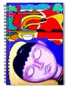 Dreams Of Santa Spiral Notebook