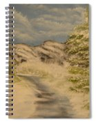 Dreams Of Snow Spiral Notebook