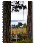 Dreams Of The Swing Spiral Notebook