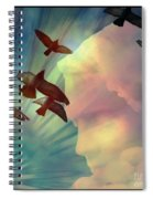 Of Lucid Dreams / Dreamscape 6 Spiral Notebook