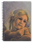 Dreamy Angel Spiral Notebook