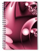 Dreamy Flower Garden Spiral Notebook