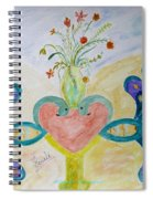 Dreamy Heart Spiral Notebook