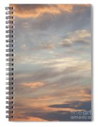Dreamy Sunset Sky Spiral Notebook
