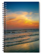 Dreamy Texas Sunset Spiral Notebook