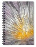Dreamy Waterlily Spiral Notebook